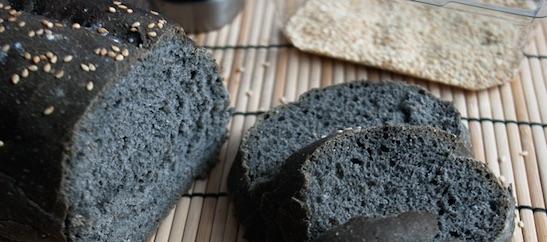 Pane al carbone, nessun beneficio per la salute
